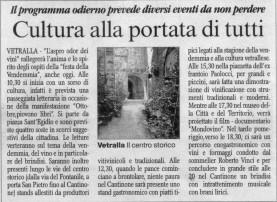 05.10.2008 articolo Vetralla Corriere di Viterbo
