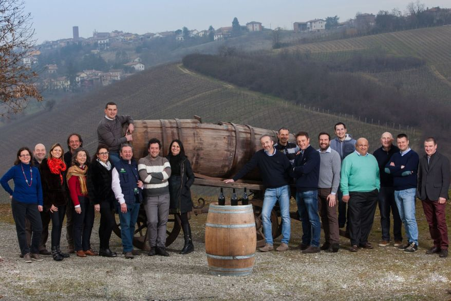 I 19 produttori dellla Bonarda